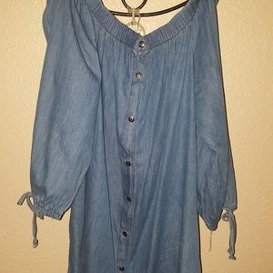 Woman's Denim Dress
